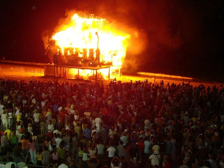 Fiesta de San Juan en Sabinillas