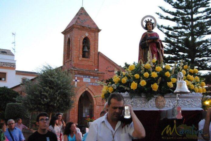 Fiesta de San luis en Sabinillas