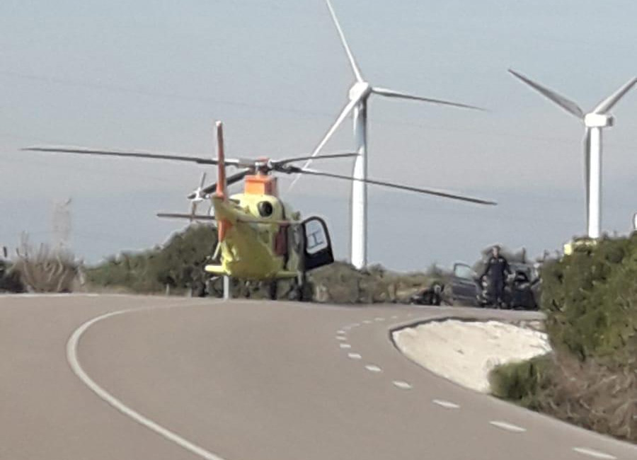 Accidente carretera de Casares