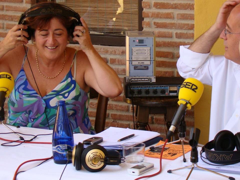 Antonia Muñoz en la Ser