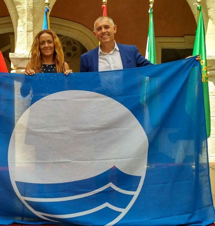 bandera azul Manilva