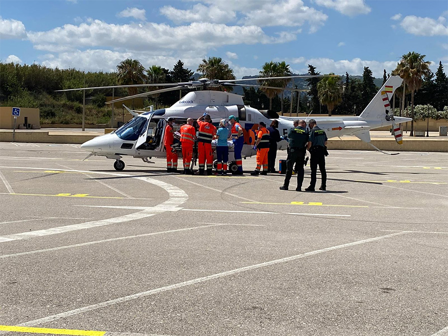 Helicoptero Manilva