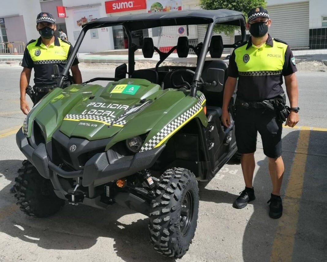 Nuevo vehículo Policia Local
