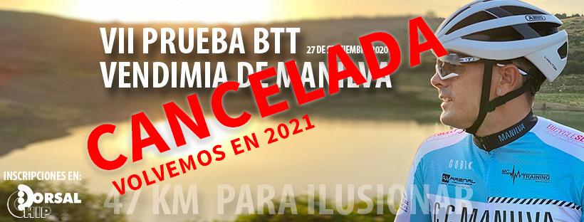 Cancelada la BTT Manilva 2020