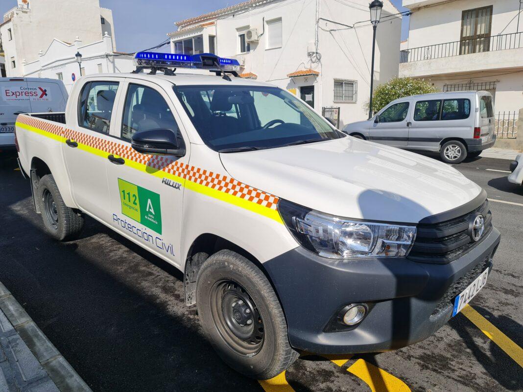 coche Proteccion Civil