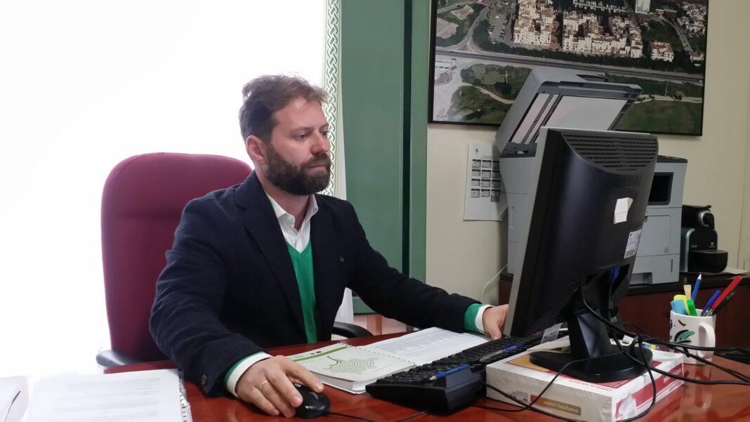 Marcos Ruiz Concejal de Fomento de Empleo