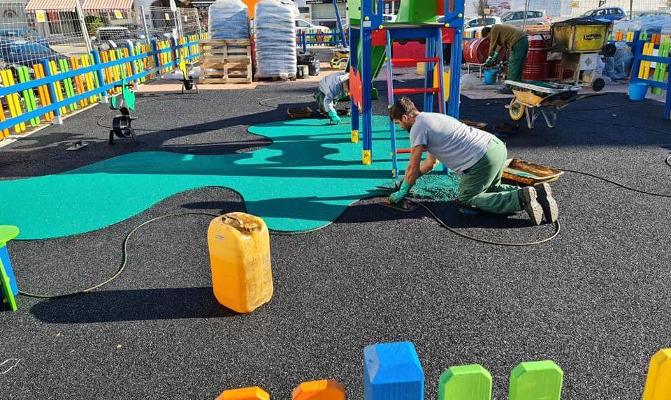 Parque infantil Puerto de la Duquesa