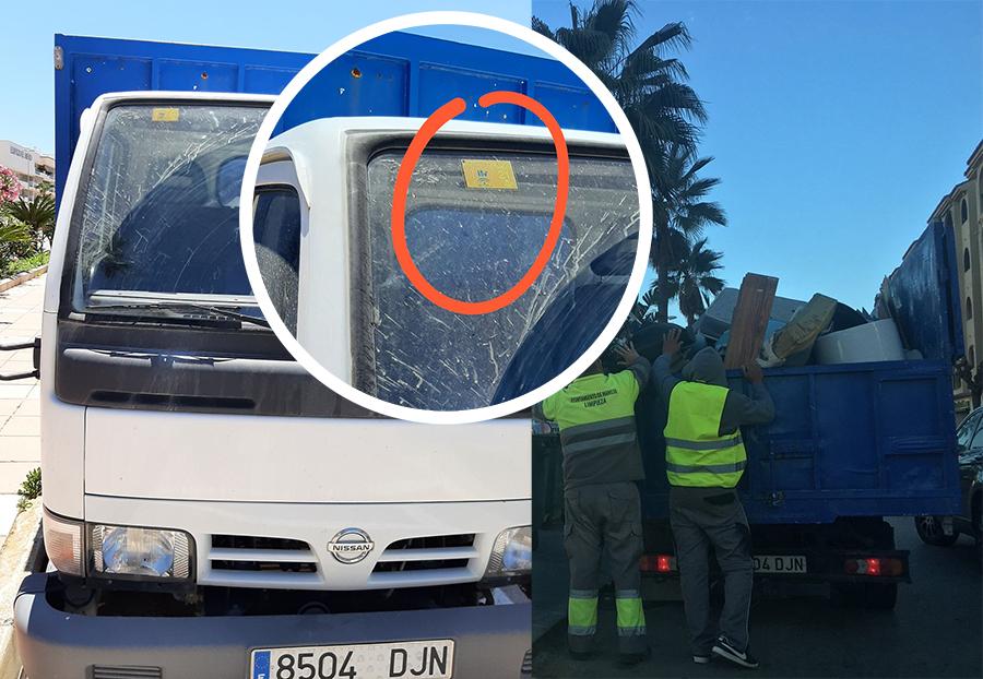Otro vehículo municipal circulando sin itv