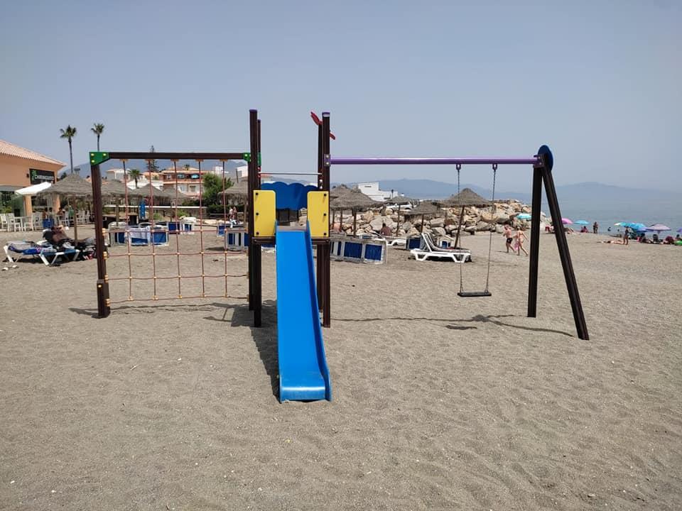 parques en las playas