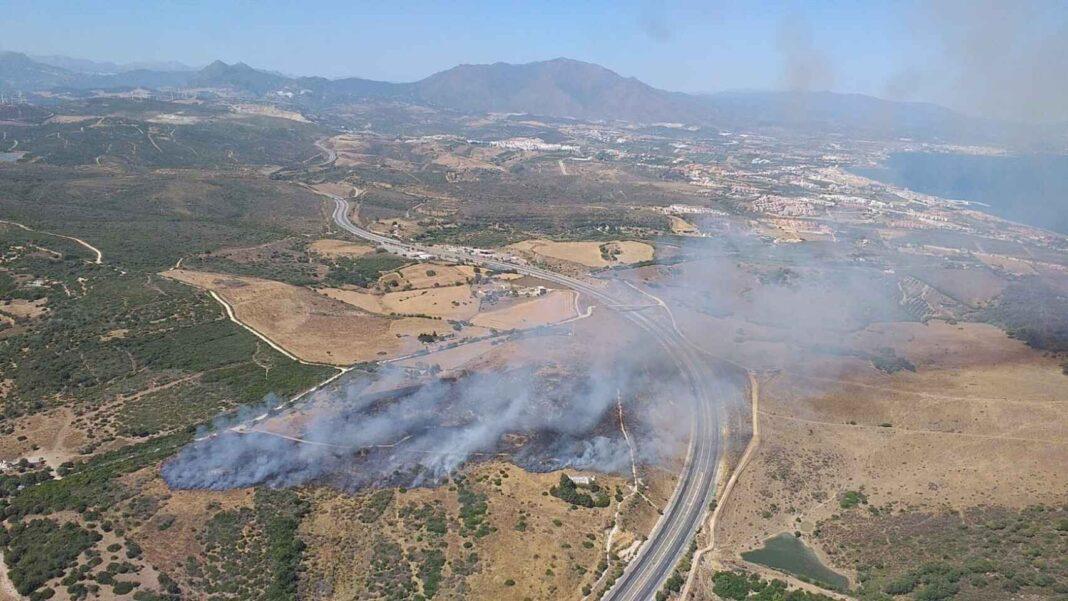 Incendio Manilva