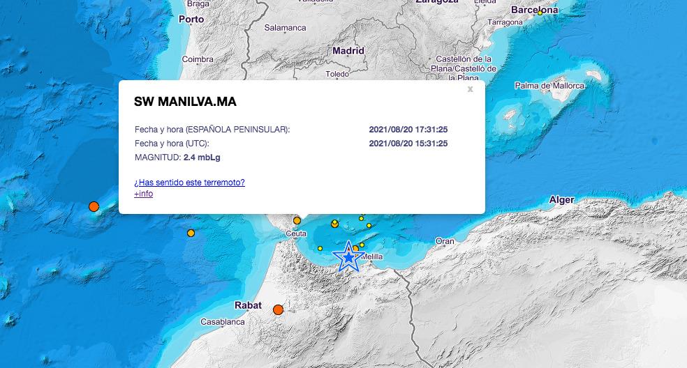 terremoto Manilva