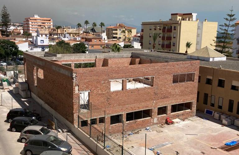 Obras del Colegio San Luis de Sabinillas